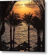 Egypt Sunrise Metal Print