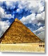 Egyptian Pyramid Metal Print