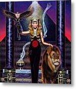 Egyptian Queen Metal Print