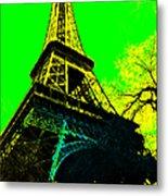 Eiffel 20130115v2 Metal Print