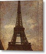 Eiffel Metal Print by Soumya Bouchachi