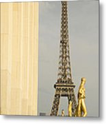 Eiffel Tour Paris Metal Print