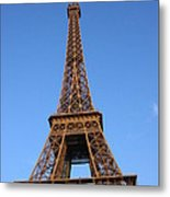 Eiffel Tower 2005 Ville Candidate Metal Print
