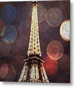 Eiffel Tower-4 Metal Print