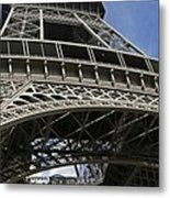 Eiffel Tower First Balcony Metal Print