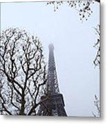 Eiffel Tower - Paris France - 011318 Metal Print