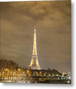 Eiffel Tower - Paris France - 011339 Metal Print