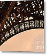 Eiffel Tower Paris France Arc Metal Print