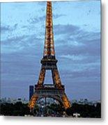 Eiffel Tower Metal Print