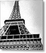 Eiffel Tower Up Close 3 Metal Print