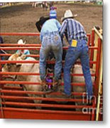 Rodeo Eight Seconds To Payday Metal Print