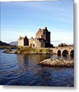 Eilean Donan Castle Kintail Scotland Metal Print
