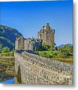 Eilean Donan Castle Walkway Metal Print