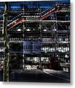 Eileen Gray At The Pompidou Metal Print
