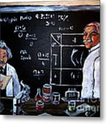 Einstein/carver Experiments Metal Print