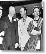 Eisenhowers At Easter Metal Print