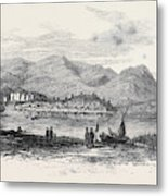 Eisteddfod Or Congress Of Welsh Literati At Conway Castle Metal Print