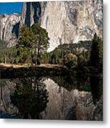 El Capitan In Yosemite 2 Metal Print