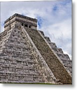 El Castillo Metal Print by Adam Romanowicz