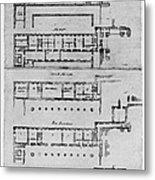 El Escorial: Apartments Metal Print