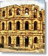 El Jem Colosseum Metal Print