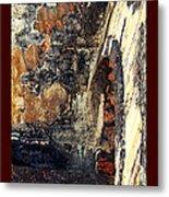 El Morro Arch With Border Metal Print
