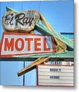 El Ray Motel Metal Print