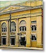 El Reno Oklahoma Opera House And Theatre 1910- Dwight Goss Metal Print