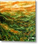 El Yunque Rainforest Metal Print
