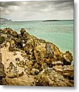 Elafonisi Island Metal Print