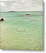 Elafonisi Sea View Metal Print