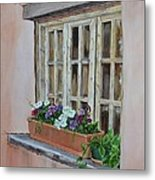 Elayne Look Through The Window Metal Print