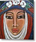 Eleanor Of Aquitaine The Lioness In Winter Metal Print