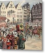 Election To The Empire The Procession Metal Print