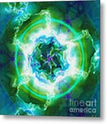 Electric Attraction Metal Print
