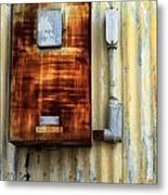 Electric Box Metal Print