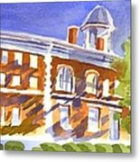 Electric Courthouse Metal Print