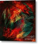 Electric Dreams Of The Ancients Metal Print