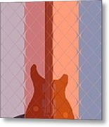 Electric Guitar Solo Metal Print