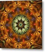 Electric Mandala 1 Metal Print