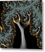Electric Tree - Phone Cases And Cards Metal Print