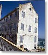 Electrical Repair Shop Alcatraz Island Metal Print