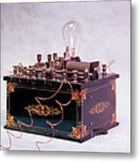 Electroconvulsive Therapy Metal Print by Brooks / Brown