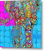 Elefantos - Av03-ps01 Metal Print by Variance Collections