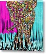 Elefantos - Cr01ac02 Metal Print