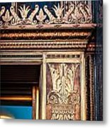 Elegant And Old Metal Print