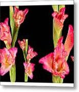 Elegant Sensual Romantic Flower Bouquet For Valentine's Day Metal Print
