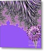 Elegant Tentacles Purple And Lilac Metal Print