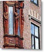 Elegant Window In Bergen Metal Print