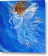 Elemental Earth Angel Of Wind Metal Print